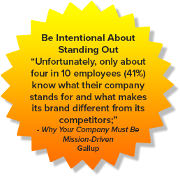 Be Intentional About Standing Out
