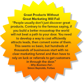 Great Products Without Great Marketing Will Fail