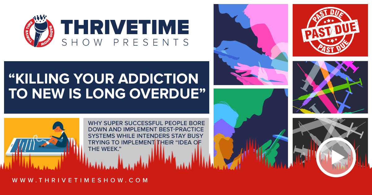 Addiction To New Thrivetime Show Slides