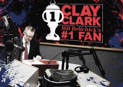 Bill Belichick's #1 Fan Clay Clark 11