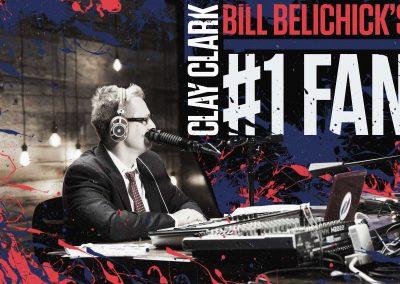 Bill Belichick's #1 Fan Clay Clark 13