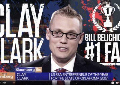Bill Belichick's #1 Fan Clay Clark 16