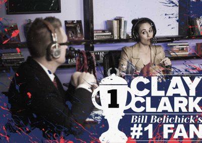 Bill Belichick's #1 Fan Clay Clark 18