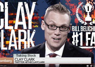 Bill Belichick's #1 Fan Clay Clark 21