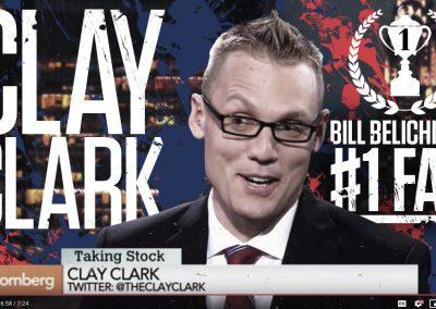 Bill Belichick's #1 Fan Clay Clark 21 Version 2
