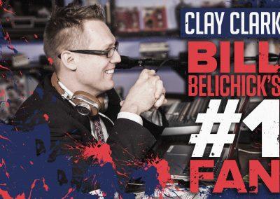Bill Belichick's #1 Fan Clay Clark 22