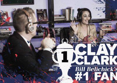 Bill Belichick's #1 Fan Clay Clark 25
