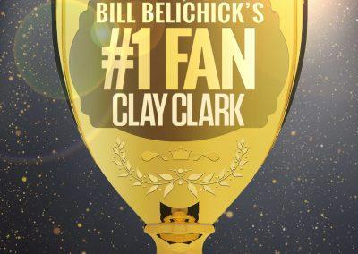 Bill Belichick's #1 Fan Clay Clark 29
