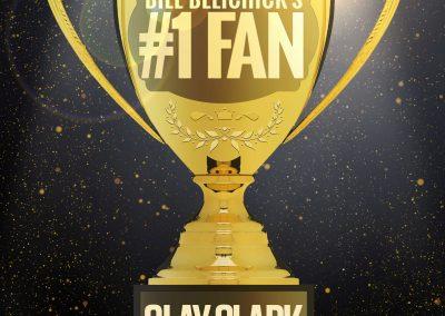 Bill Belichick's #1 Fan Clay Clark 30