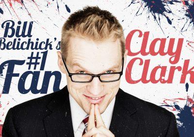 Bill Belichick's #1 Fan Clay Clark 4