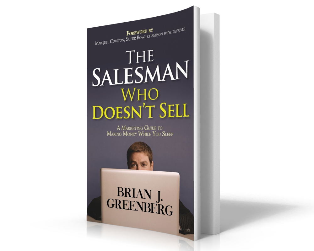 Best Podcasts for Entrepreneurs | The Salesman Who Doesn't Sell Author Brian Greenberg on the Thrivetime Show Podcast