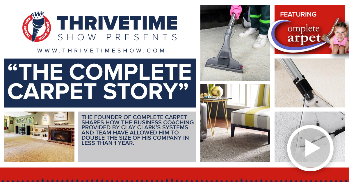 Complete Carpet Thrivetime Show Slides