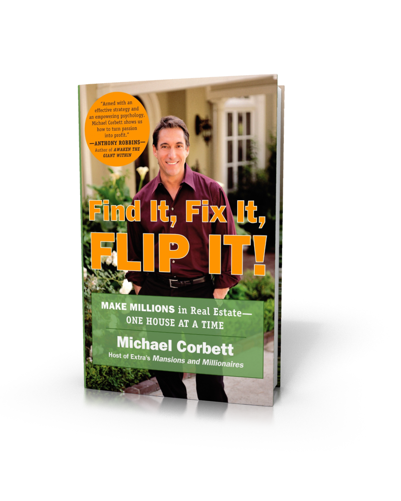 Best Podcasts for Entrepreneurs | Find It, Fix It, Flip It Author Michael Corbett on the Thrivetime Show Podcast