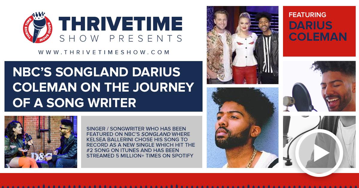 Darius Coleman Thrivetime Show Slides