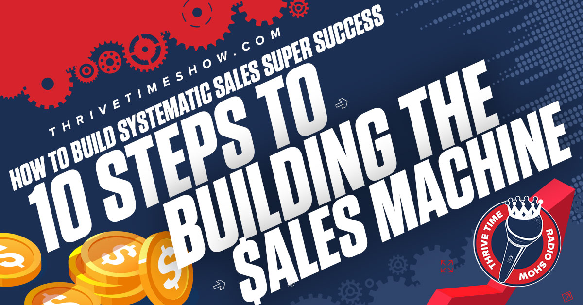 Facebook 10 Steps To Building The Sales Machine Woman Grows Her Business By Over 1,000 % Growth Within Just 3 Short Years Thrivetime Show