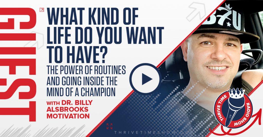 Facebook Billy Alsbrooks Motivation Thrivetime Show