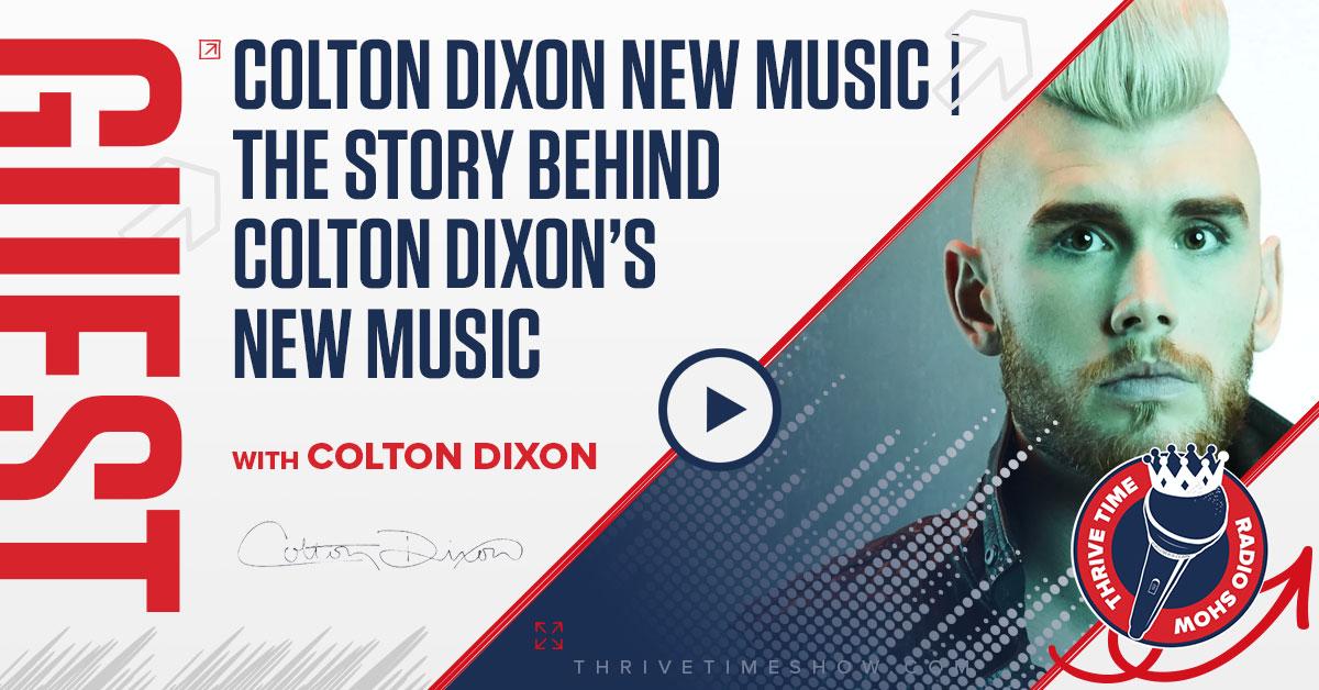 Facebook Colton Dixon Thrivetime Show