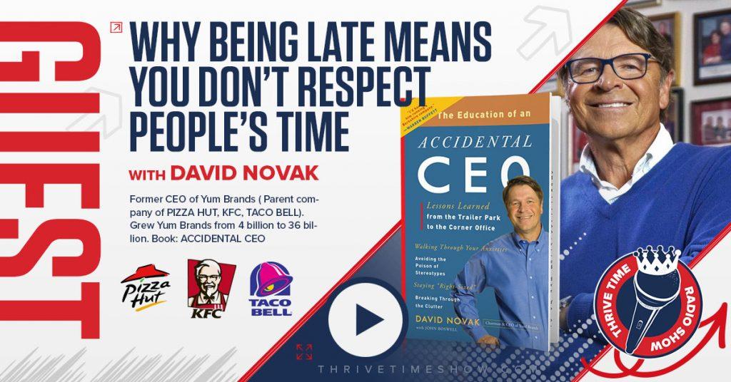 Facebook David Novak Thrivetime Show