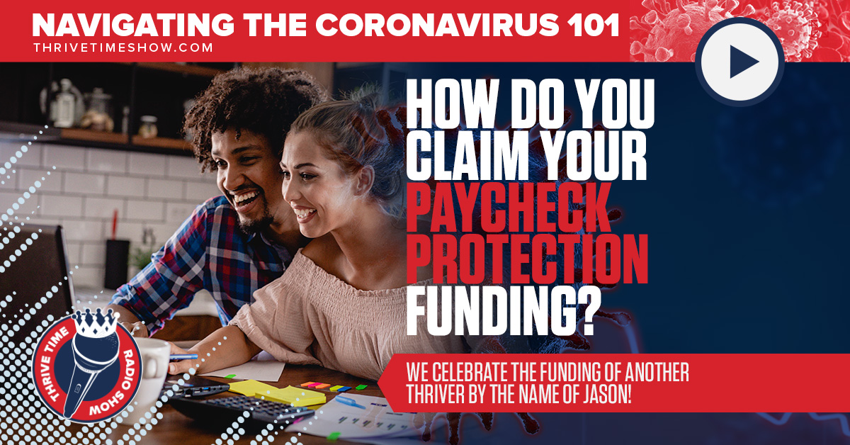 Facebook How Do You Claim Your Paycheck Protection Funding ThrivetimeSHow