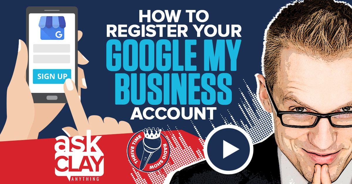 Facebook How To Register Your Google My Business Account Thrivetime Show Compressor
