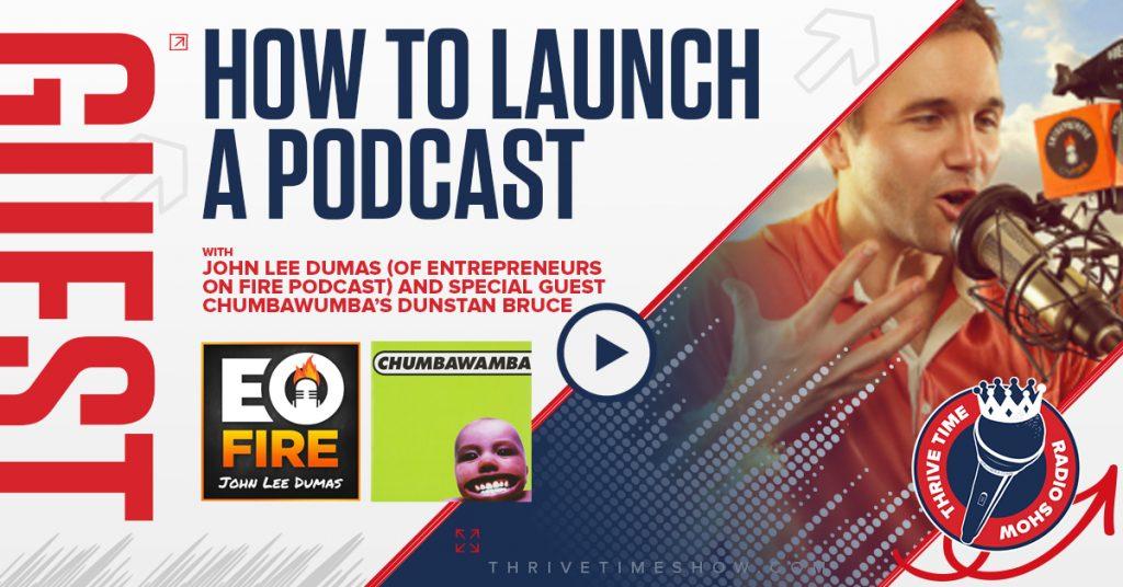 Facebook John Lee Dumas (Chumbawumba) Version 2 Thrivetime Show