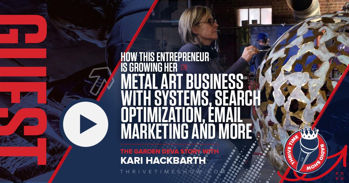 Facebook Kari Hackbarth Thrivetime Show