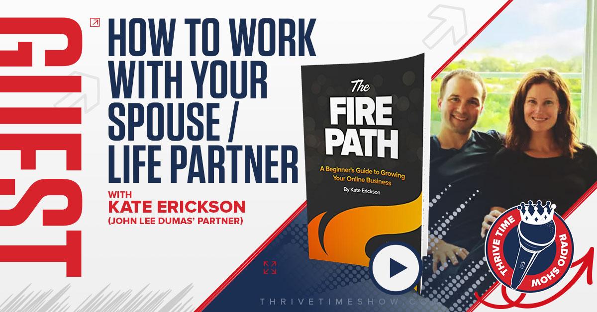 Facebook Kate Erickson ThrivetimeShow