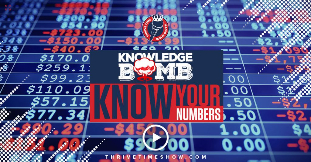 Facebook Know Your Numbers Knowledge Bomb Thrivetime Show Slides