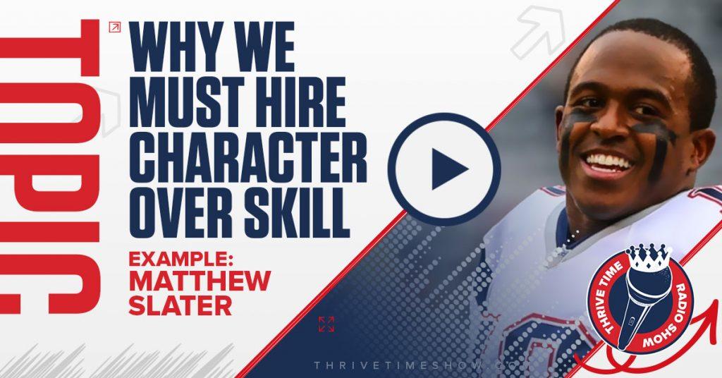 Facebook Matthew Slater Thrivetime Show