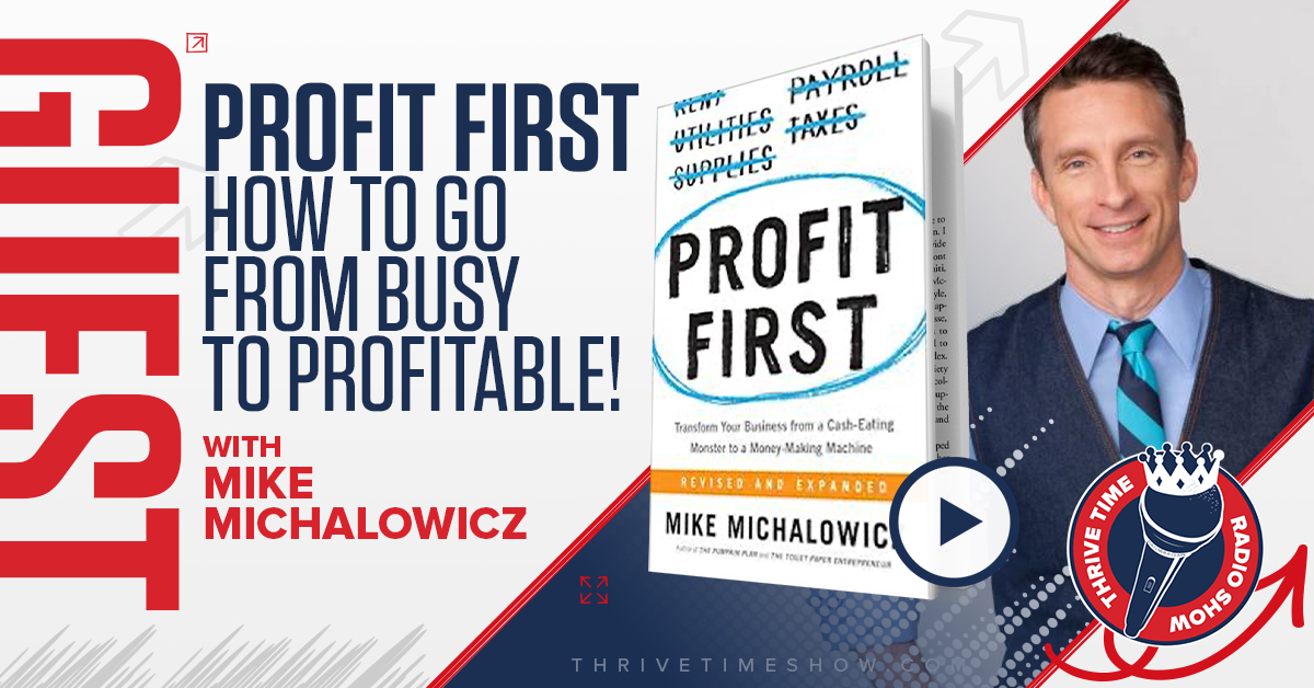 Facebook Post Mike Michalowicz Thrivetime Show