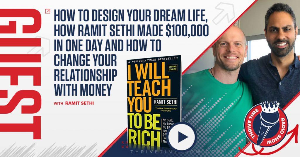 Facebook Ramit Sethi Thrivetime Show