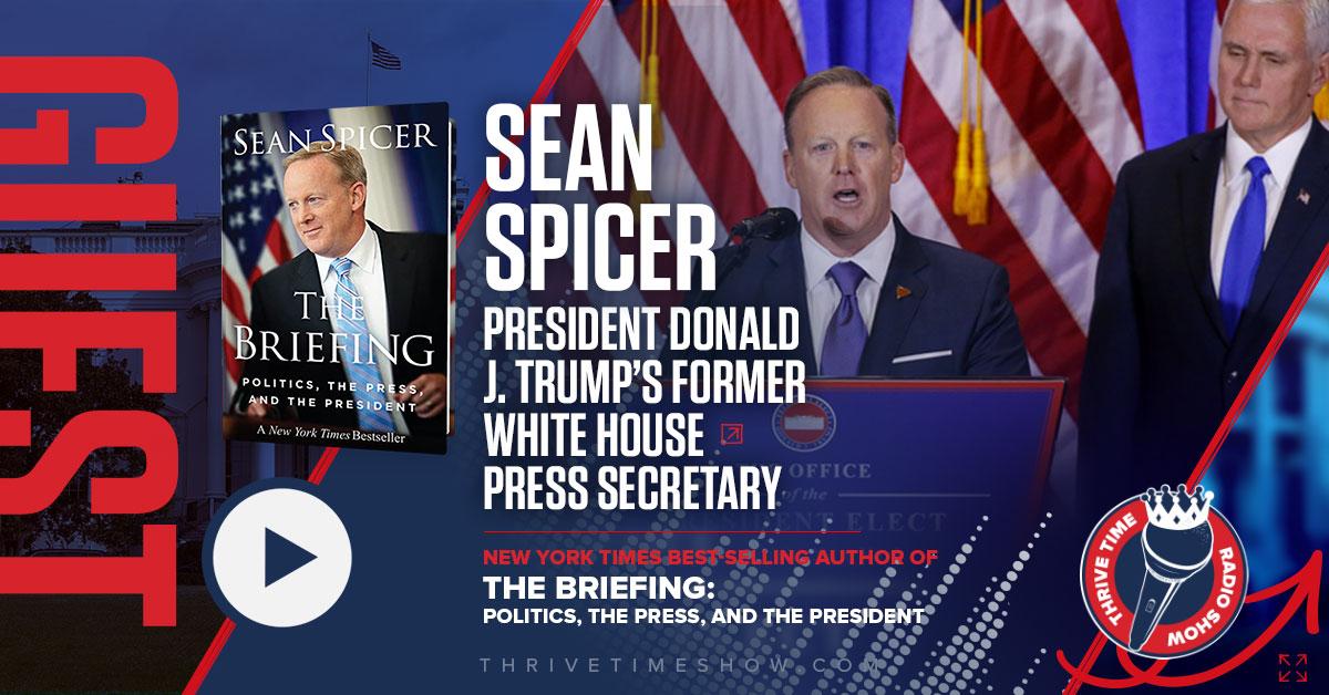 Facebook Sean Spicer Thrivetime Show