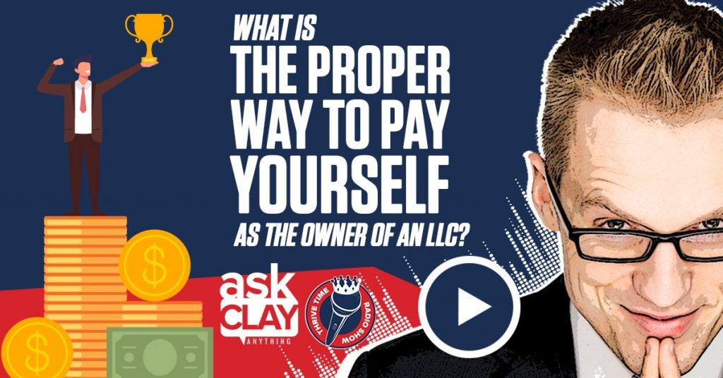 Facebook What Is The Proper Way To Pay Yourself As The Owner Of An LLC Thrivetime Show Compressor