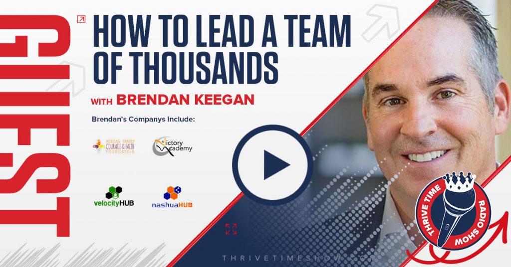 Guest Topic Banner Brendan Keegan Thrivetime Show