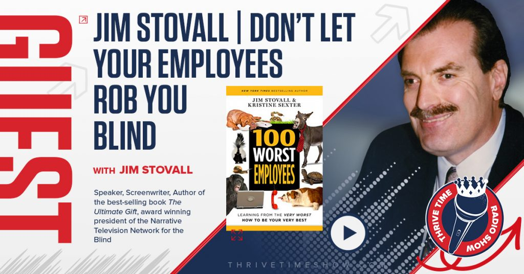 Guest Topic Banner Jim Stovall Thrivetime Show