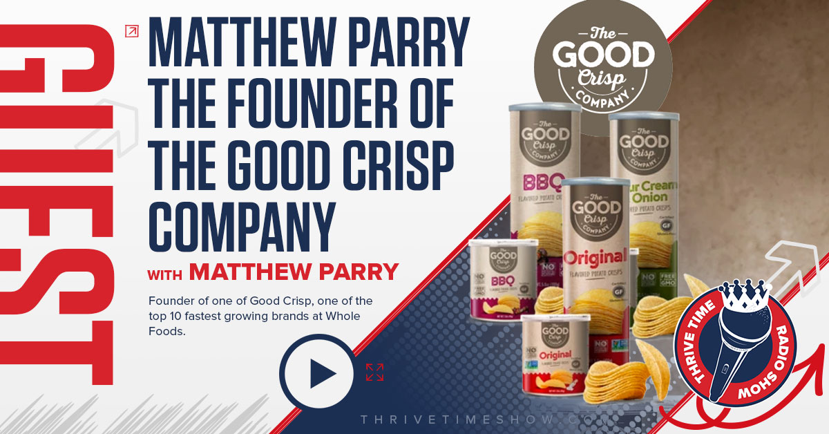 Guest Topic Banner Matthew Parry Thrivetime Show