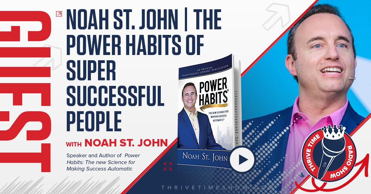 Noah St John Thrivetime Show