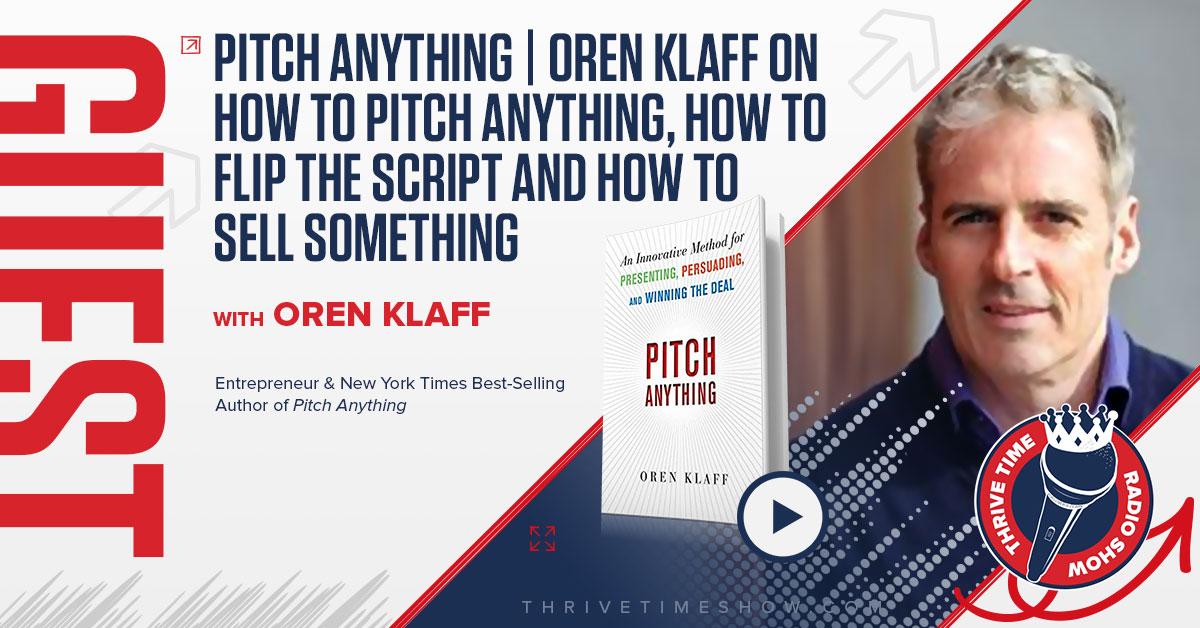 Guest Topic Banner Oren Klaff Thrivetime Show