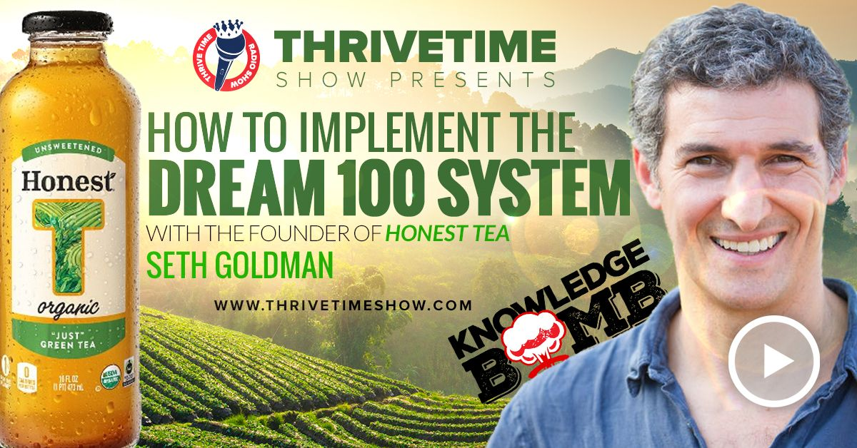 How To Implement The Dream 100 System Thrivetime Show Slides Compressor