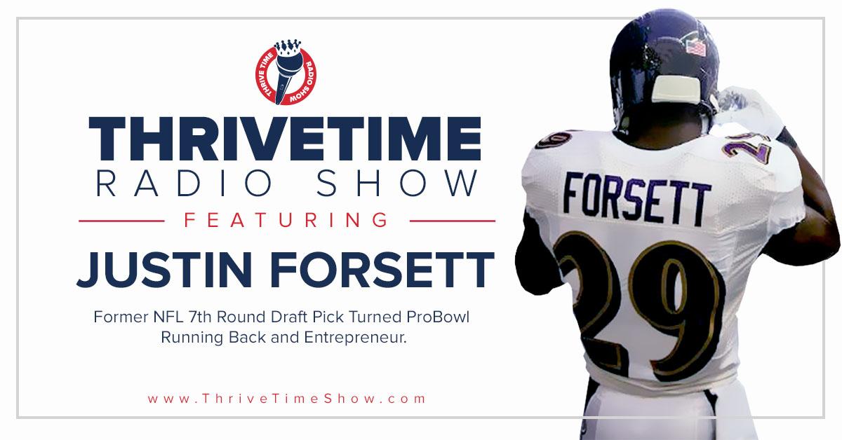 Justin Forsett Thrivetime Show Slides