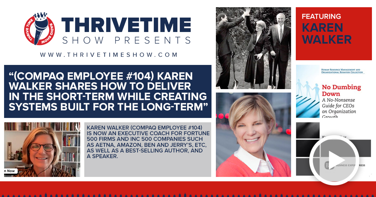 Karen Walker Thrivetime Show Slides
