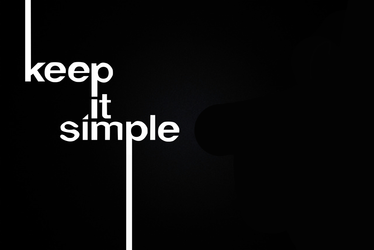Keep It Simple Text