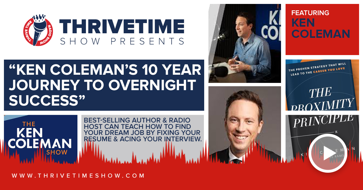 Ken Coleman Thrivetime Show Slides