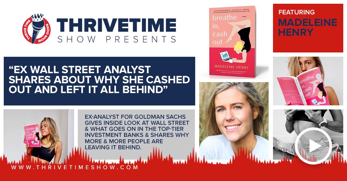 Madeleine Henry Thrivetime Show Slides