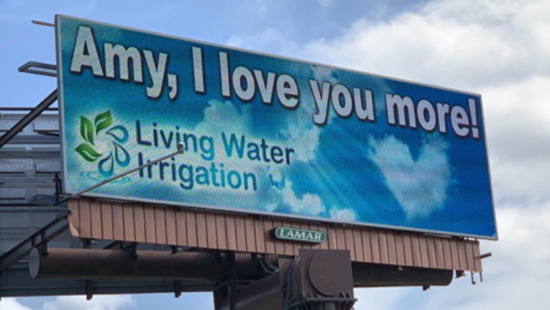 Man Uses 8 Digital Billboards To Declare Love For Wife Thriveitme Show
