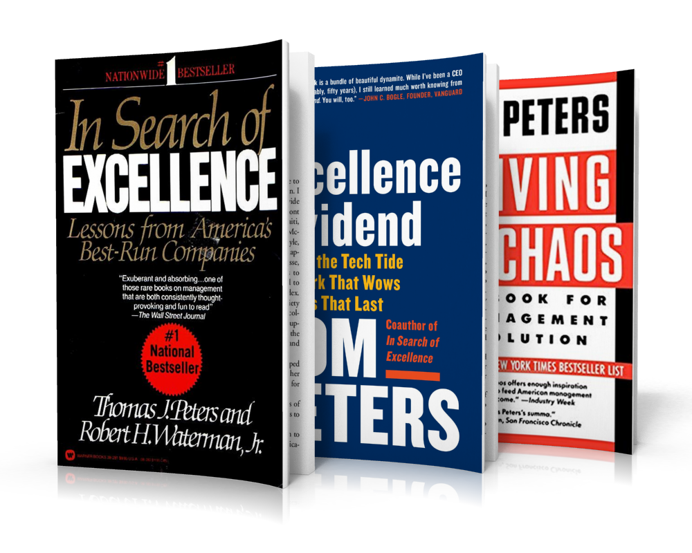 Best Podcasts for Entrepreneurs | In Search of Excellence Author Tom Peters on the Thrivetime Show Podcast