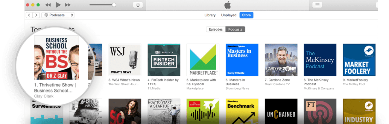 ThriveTime Show on iTunes