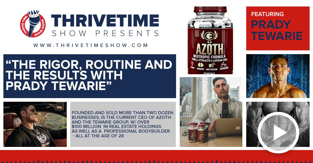 Prady Tewarie Thrivetime Show Slides 2