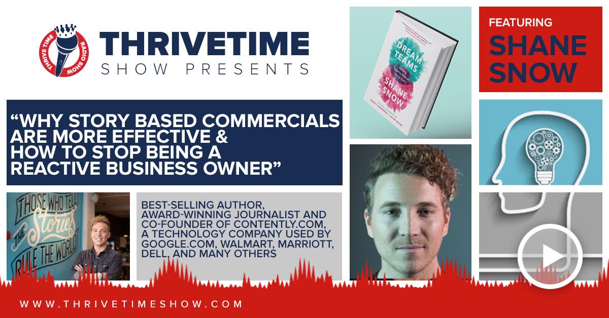 Shane Snow Thrivetime Show Slides