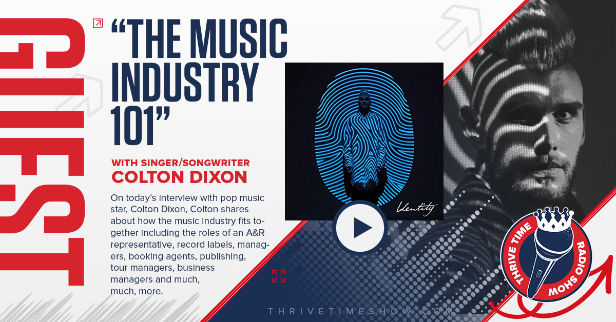 Singer Songwriter Colton Dixon The Music Industry 101